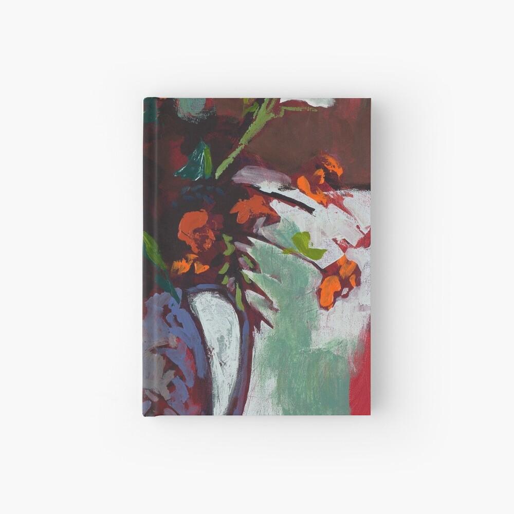 Marigolds Gone Wild Hardcover Journal