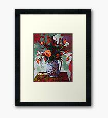 Marigolds Gone Wild Framed Print