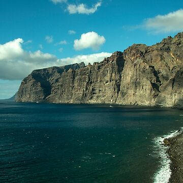 The Cliffs at Los Gigantes  by hawkie