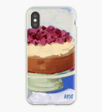 Raspberry Cream Cake iPhone Case
