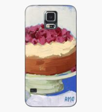 Raspberry Cream Cake Case/Skin for Samsung Galaxy