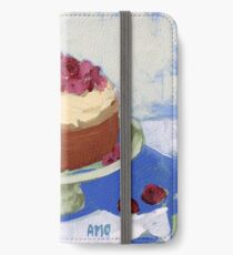 Raspberry Cream Cake iPhone Wallet/Case/Skin