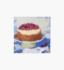 Raspberry Cream Cake Art Board