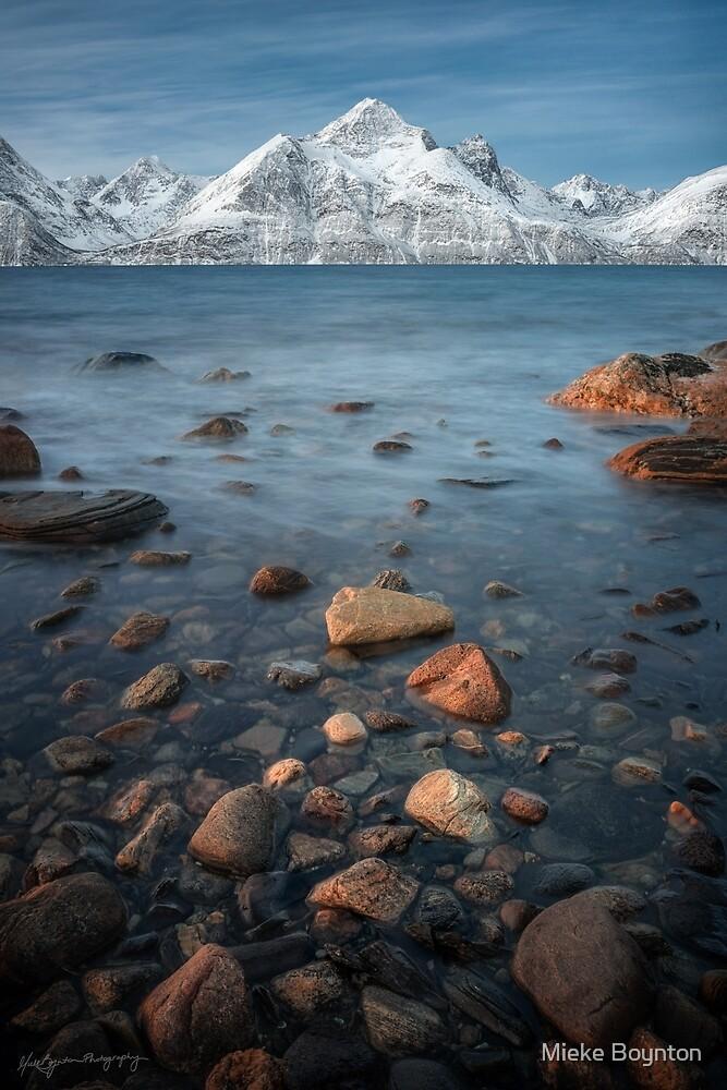 Along the Lyngenfjord by Mieke Boynton