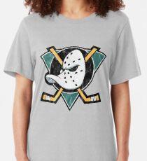 The Mighty Ducks Logo Slim Fit T-Shirt