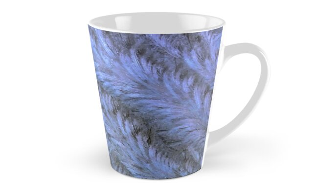 Blue ice frost swirls by chihuahuashower