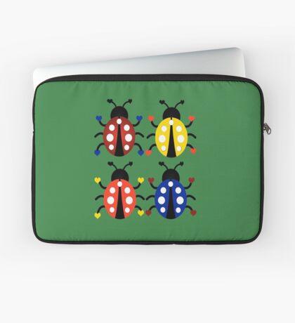 Ladybugs with Hearts Laptop Sleeve