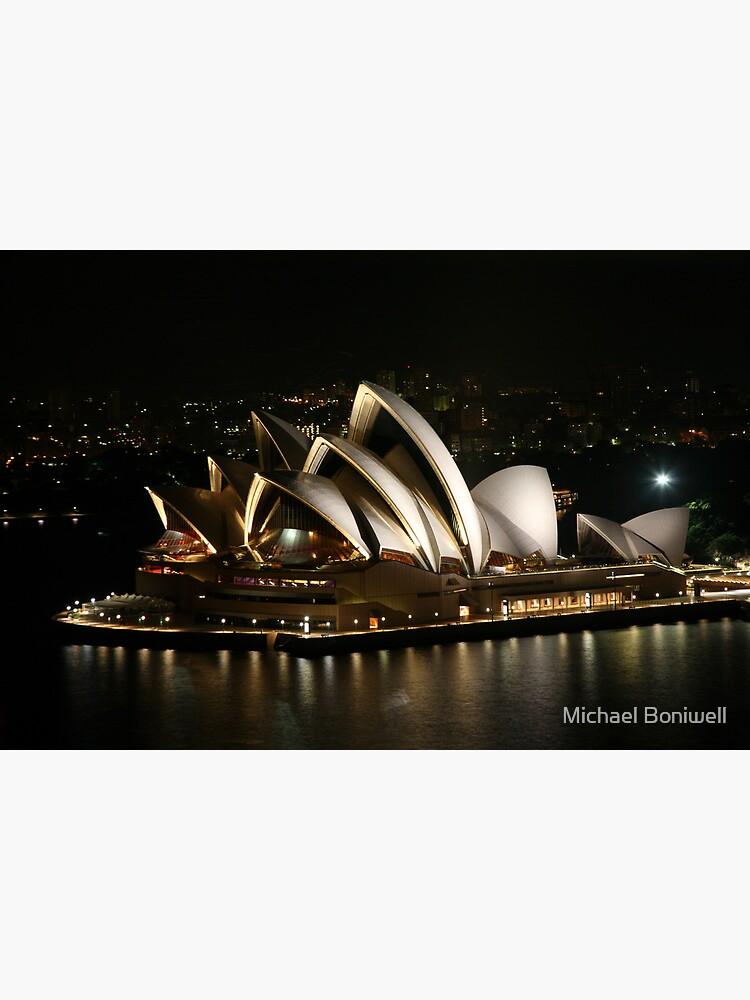 Opera House at Night, Sydney, Australia by Chockstone