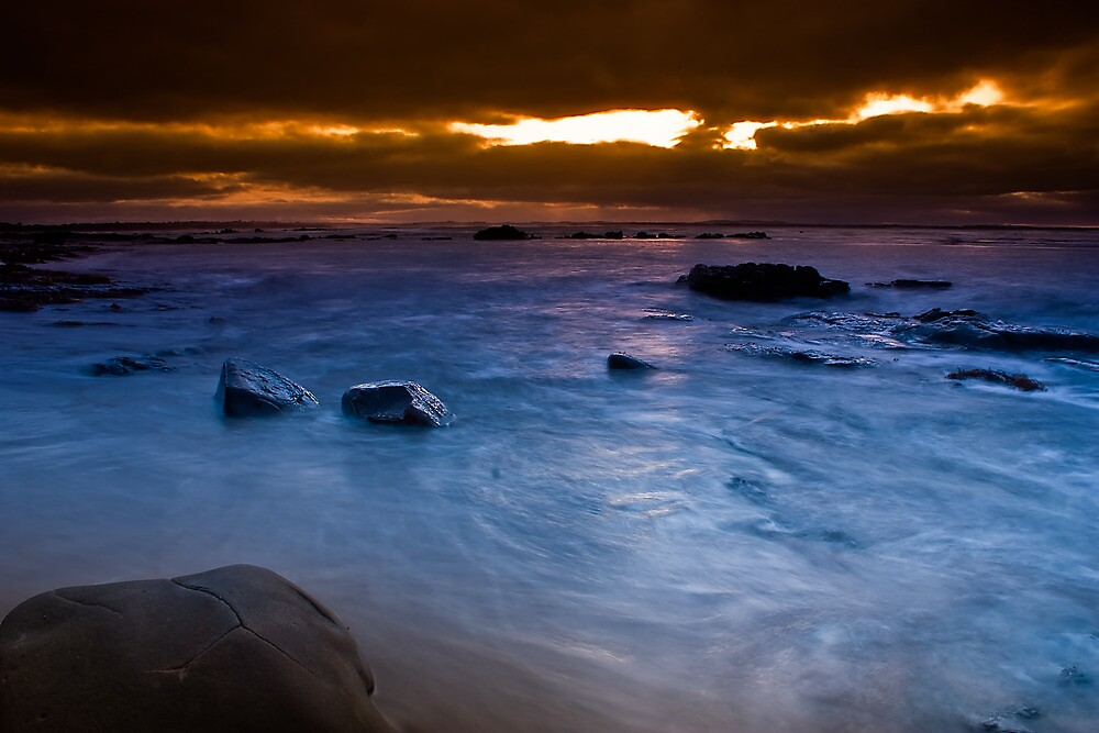 Dawn at The Caves by Jason Green