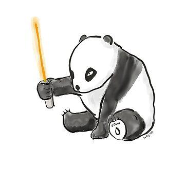 Sabre Panda by jongary