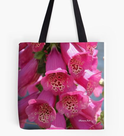 Foxglove ~ Also Known as Digitalis Tote Bag