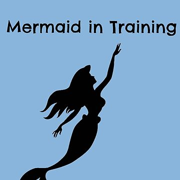 Mermaid in Training (Version 2) by lilysgrotto