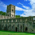 Fountains Abbey, Ripon. North Yorkshire by hanspeder