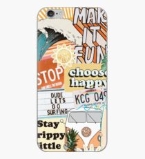Summer Collage iPhone Case