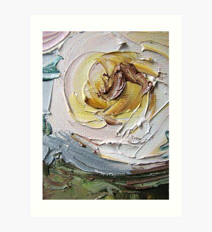 Zoom to one beautiful Rose Art Print