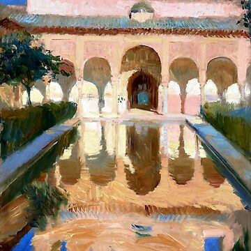 Joaquin Sorolla y Bastida Hall of the Ambassadors, Alhambra, Granada by pdgraphics