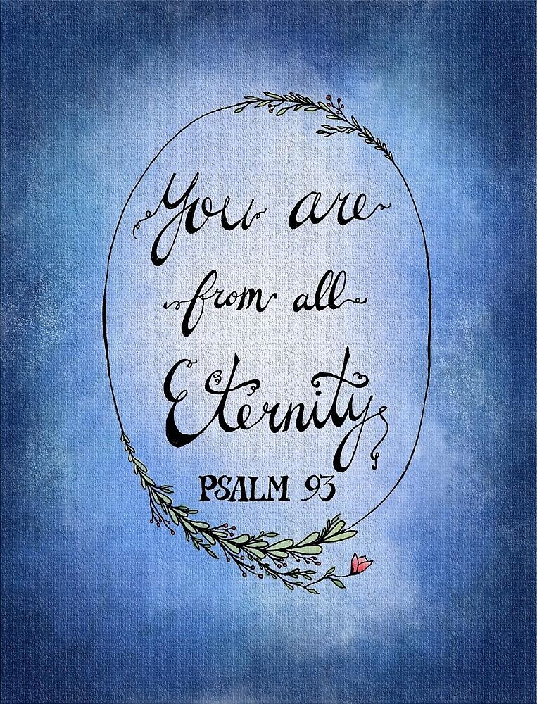 Psalm 93 - Blue by HDodson