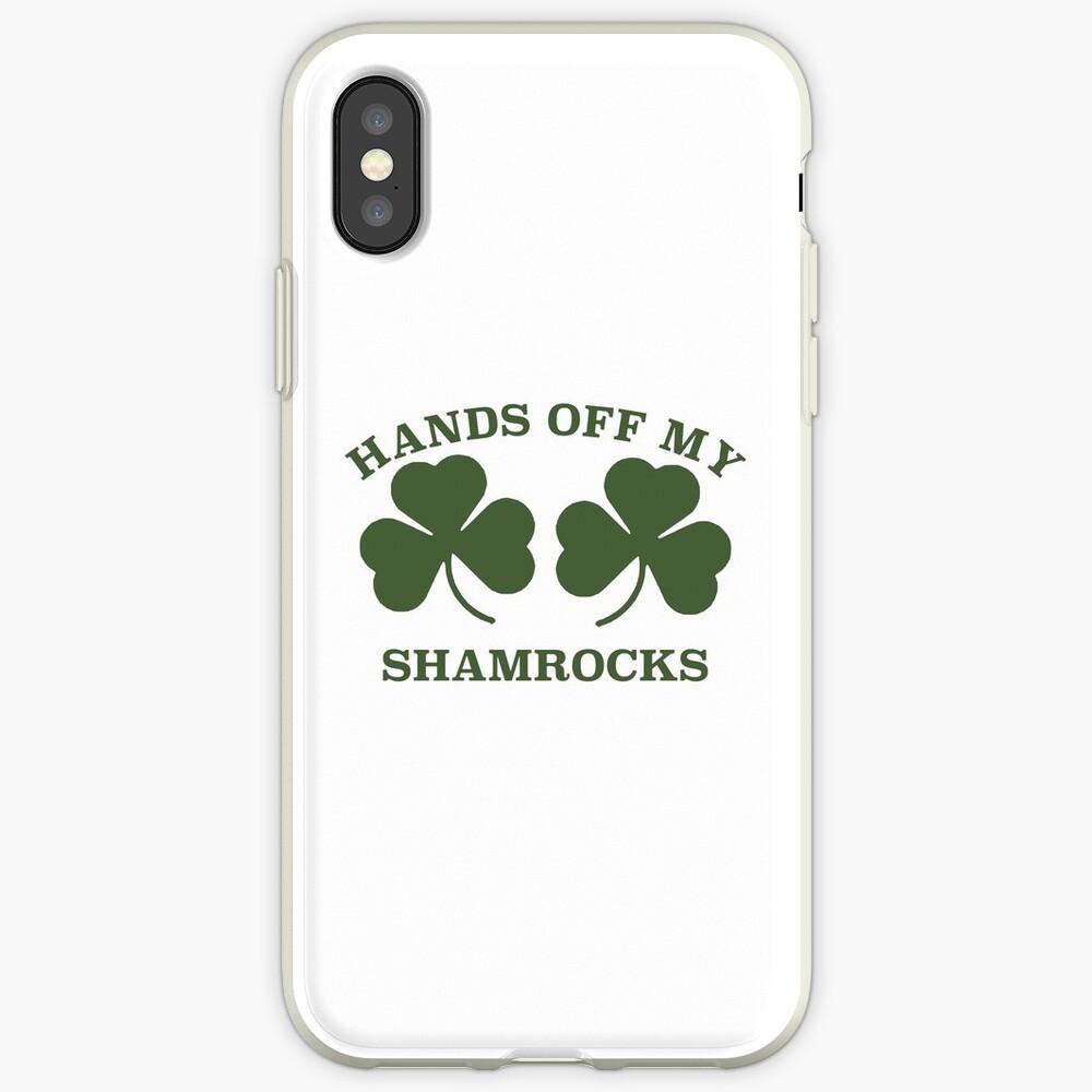 St Patrick's Day Shamrocks iPhone Case & Cover