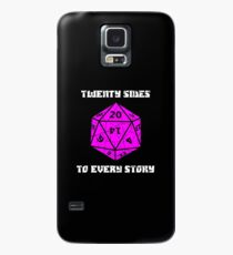 Dungeons & Dragons 20 sides to Every Story Case/Skin for Samsung Galaxy