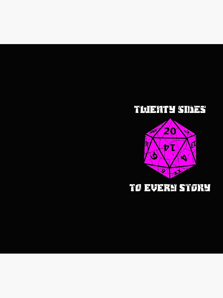 Dungeons & Dragons 20 sides to Every Story by wirelessjava