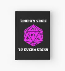 Dungeons & Dragons 20 sides to Every Story Hardcover Journal