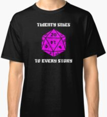 Dungeons & Dragons 20 sides to Every Story Classic T-Shirt