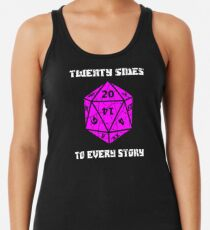 Dungeons & Dragons 20 sides to Every Story Women's Tank Top