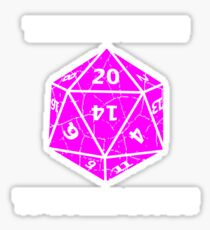 Dungeons & Dragons 20 sides to Every Story Sticker