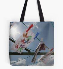 Clothesline Art Tote Bag