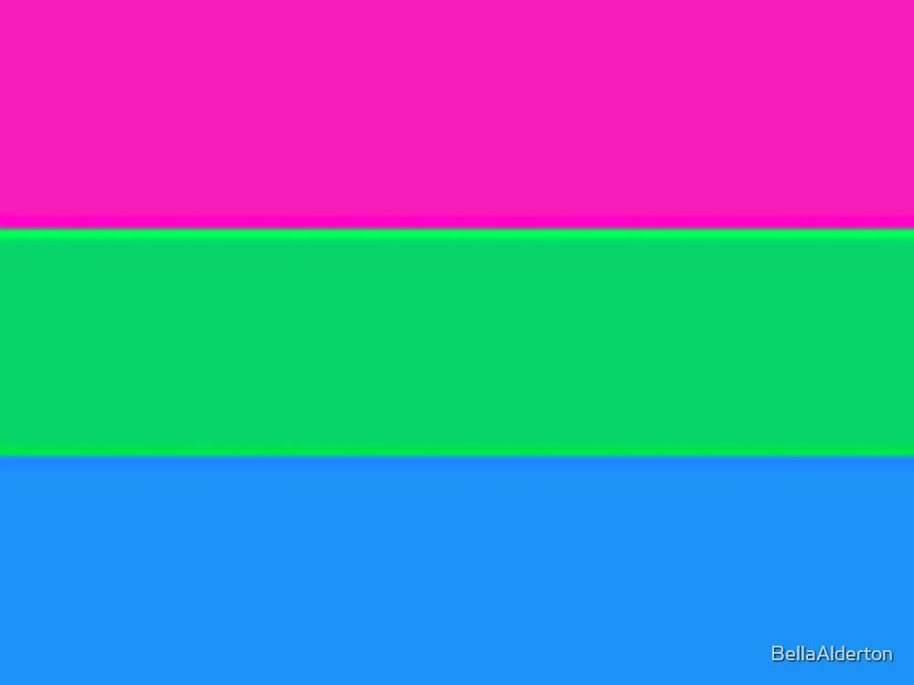 Polysexual Flag by BellaAlderton