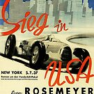 Rosemeyer in Auto Union Victory in USA by edsimoneit