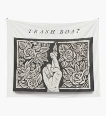 Trash Boat NIWYCCWYBT (Größe der Wandflagge) Wandbehang
