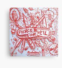 Pierce The Veil Misadventures (Größe der Wandflagge) Metallbild