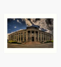 Take One (HDR Panoramic) - National Film & Sound Archive - The HDR Experience Art Print