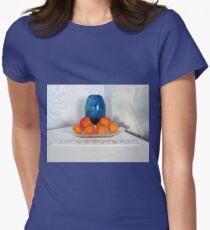 Aprikosen? Tailliertes T-Shirt für Frauen