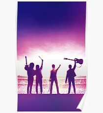 bohemian rhapsody band on stage poster