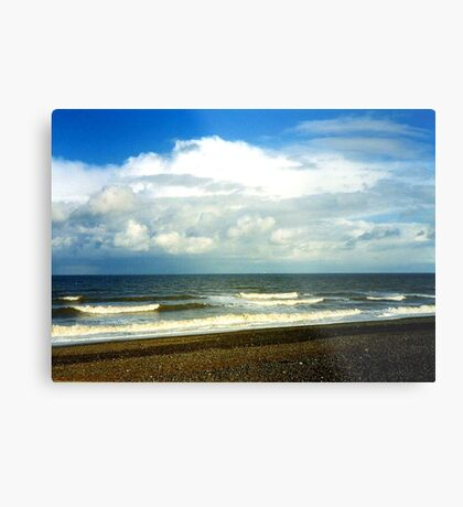 Cley Beach Metal Print