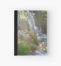 MISTY WATERFALL Hardcover Journal