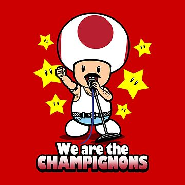 We are the Champignons by BoggsNicolasArt