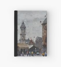 Ballarat railway station Hardcover Journal