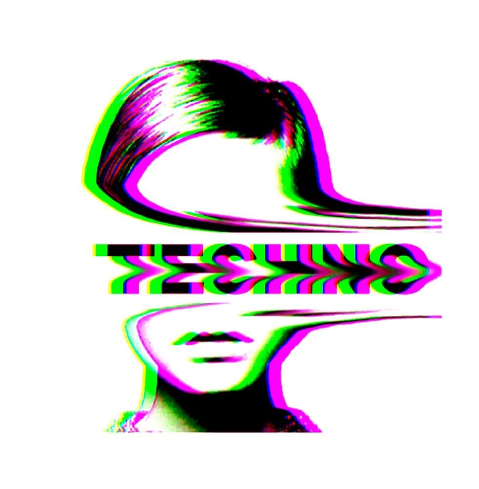 Techno - 90s aesthetic