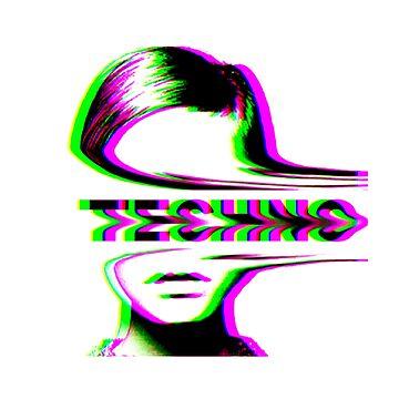 Techno - estética de los 90. de Ferrazi