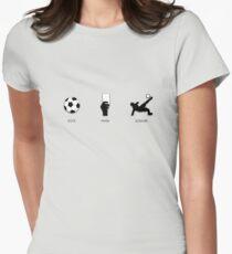 Rock Paper Scissors Women's Fitted T-Shirt