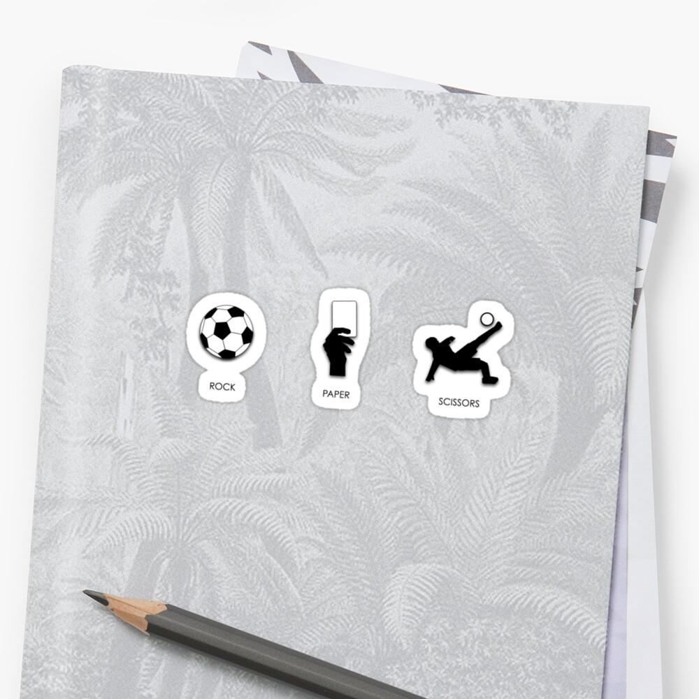 Rock Paper Scissors by Xavier Russo