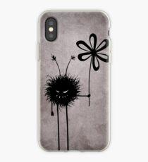Evil Flower Bug Vintage iPhone Case