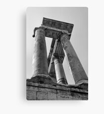 Temple of Saturn, Rome, Italy Canvas Print