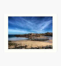 Across the bay to Fort Corblets Art Print