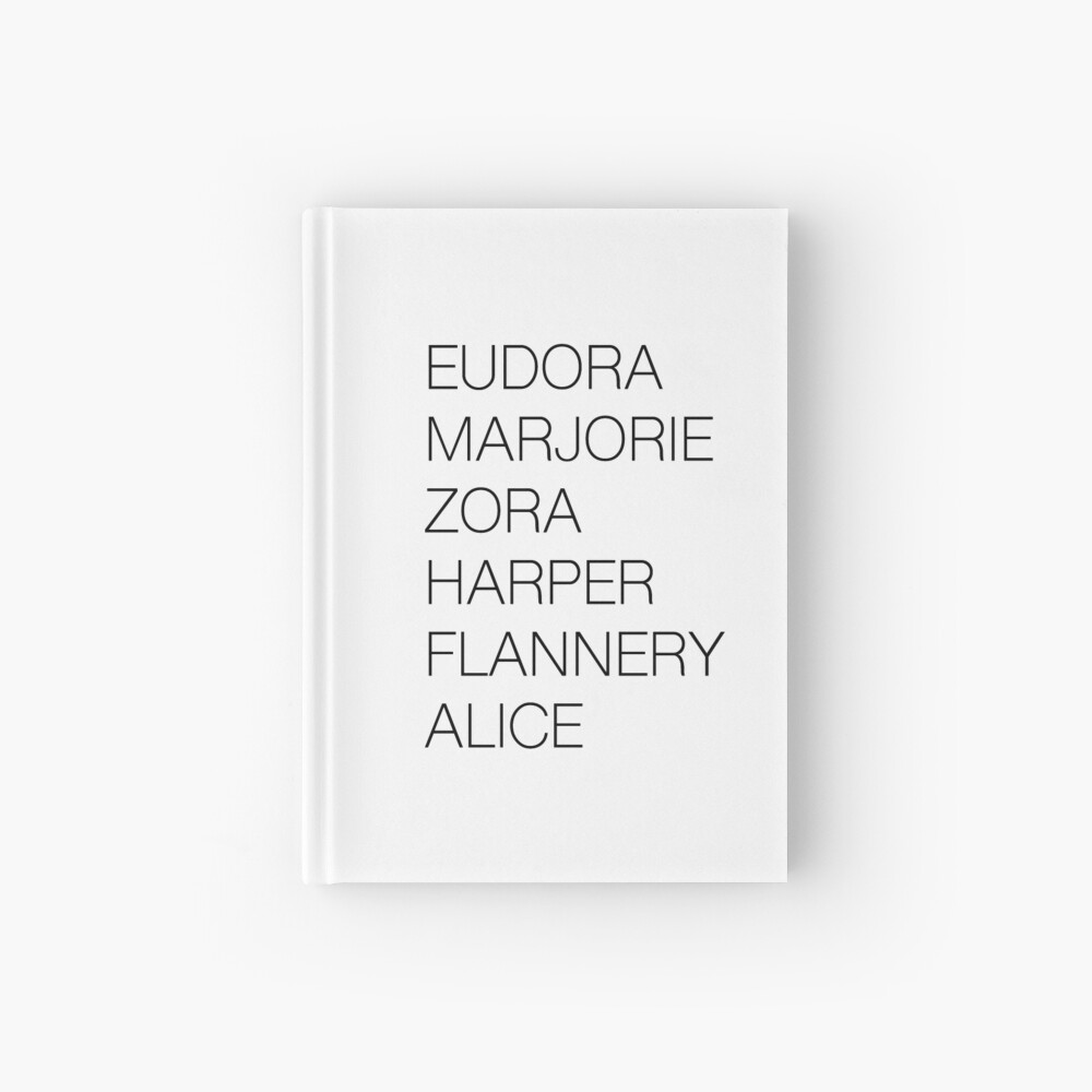 Female Literary Heroes Hardcover Journal