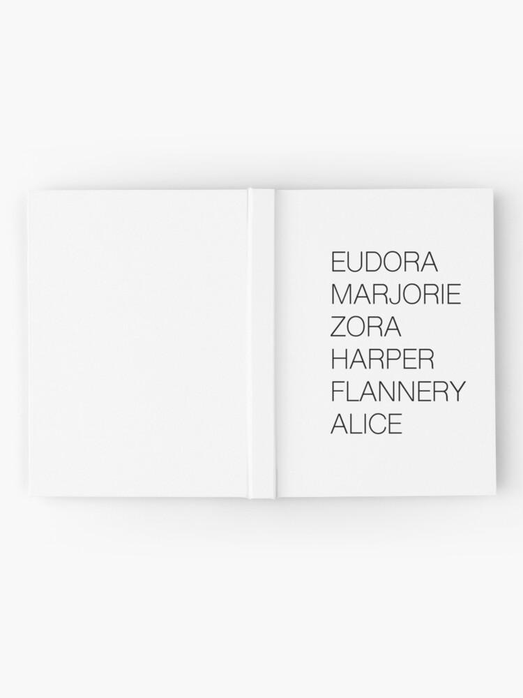 Alternate view of Female Literary Heroes Hardcover Journal