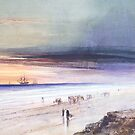 Beach Scene-James Hamilton by LexBauer